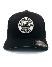 order Flex fit black hat online